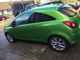 Vauxhall corsa 1L eco-flex 2014