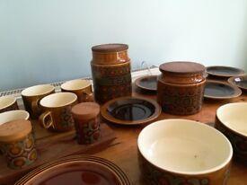 Hornsea pottery Bronte tea set