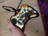 Xbox 360 gold pad including extra charger