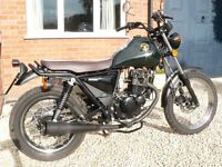 Sinnis Trackstar 125cc – Superb Condition – Only 1,050 Miles