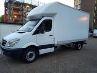 (( NO VAT ))MERCEDES SPRINTER LUTON LWB ,YEAR 2009 IN EXCELLENT CONDITION IN AND OUT