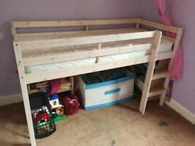 Mid Sleeper Cabin Bed with Mattress