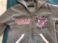 Girls 4Y tracksuit set