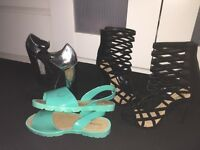 Bundle of shoes ladies brand new river island