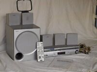 SONY DVD/VCR Home theatre system
