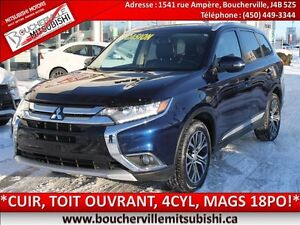 2016 Mitsubishi Outlander ES*CUIR, TOIT OUVRANT, MAGS 18PO*