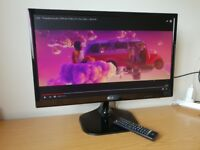 24'' LCD Personal TV Monitor - 24'' LCD Monitor 1920 x 1080 HDMI D-Sub and DVI