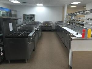 RESTAURANT, BAR, DELI, HOTEL, BAKERY, COMMERCIAL NEW EQUIPMENT, NOT USED, PIZZA, PREP TABLES, COOLERS, FREEZERS, BACKBAR