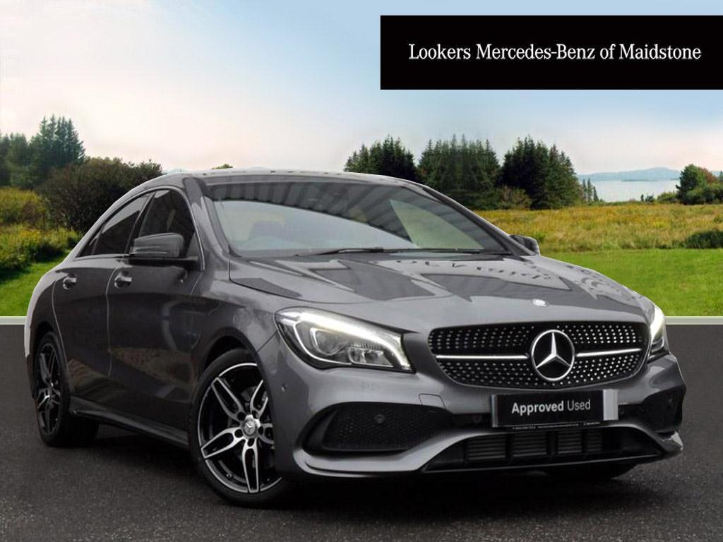 mercedes benz cla cla 220 d amg line grey 2017 01 09. Black Bedroom Furniture Sets. Home Design Ideas