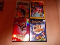 DISNEY DVDS £2 EACH SOME ARE NEW AND SEALED