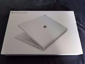 "Brand New Sealed - Microsoft SurfaceBook 13.5"" 256GB Intel Core i7 6th Gen 8GB, Nvidia GTX965M"