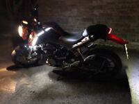 KTM Duke 125cc ONLY 3000 Miles FSH.