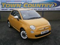 ***2012 Fiat 500 COLOUR THERAPY **ONLY 12,000 MILES!!!**LIKE NEW**( mini clio fiesta corsa polo )