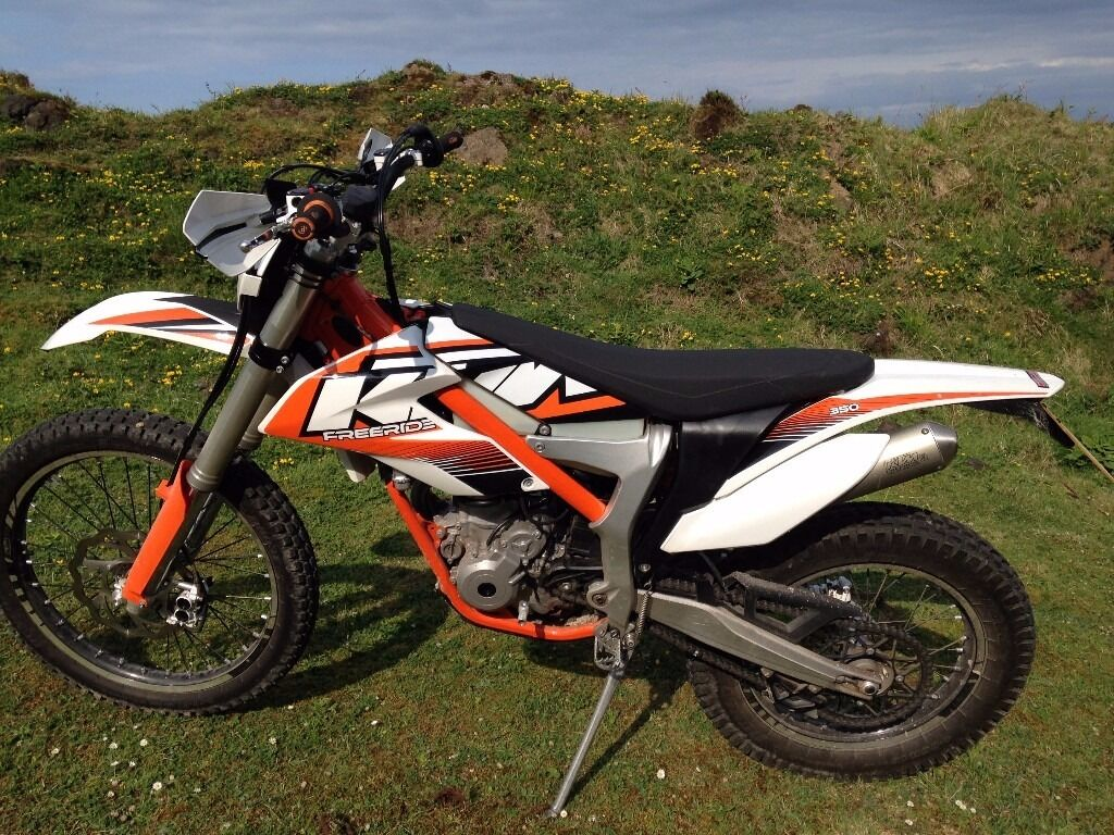 ktm 350 freeride enduro trail trial bike 2013 road registered excellent condition little use. Black Bedroom Furniture Sets. Home Design Ideas