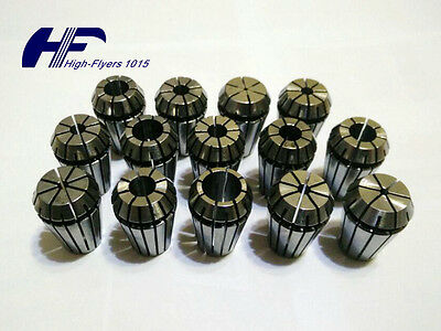 "NEW ER20 14 PCS Spring Collet Set 1/16""-1/2"" CNC Super Precision 1/8 1/4 3/8 US"