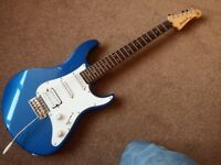 Yamaha Pacifica electric guitar blue