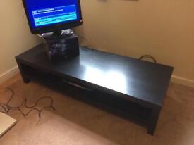 Black TV table/Coffee table