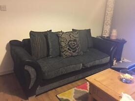 4 seater pillow back fabric sofa, and 4 seater pillow back sofa bed