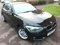 2013 BMW 1 Series 1.6 116D Efficientdynamics - Black - Great Condition - £0 Road Tax
