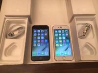 Apple iPhone 6 16gb gold and black EE and 02
