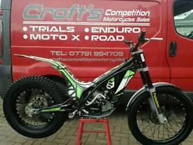 Road registered 2014 ossa tr 300 trials bike px motocross enduro road. Delivery poss. Mint bike