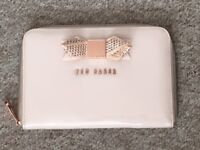 Beautiful Soft Pink Genuine Ted Baker Mini iPad Case - In Excellent Condition