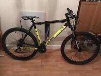 Calibre saw hardtail mountain bike large mens