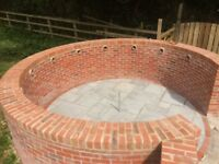Bricklaying work required, also extensions, walls and houses.