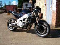 fzr1000 streetfighter ss exhaust fully serviced no mot done 70 miles since lost test