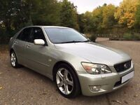 Lexus IS 200 2.0 SE 4dr, p/x welcome, 6 MONTHS FREE WARRANTY
