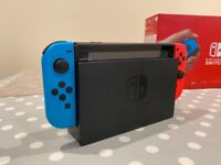 Nintendo switch (Barely used, unwanted present)