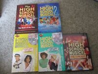High School Musical Books and DVD