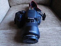 CANON EOS 700D DSLR CAMERA WITH CANON 18-55MM IS STM LENS