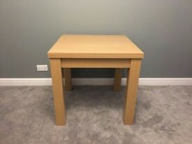 A Solid Oak Extendable Flip Top Dining Table - Seating for up to 6