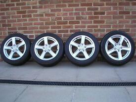 Mazda MX5 Mk3 Alloy wheels and tyres