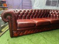 3 SEATER SOFA CHESTERFIELD