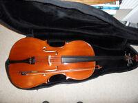 Cello 4/4 size Hindersine Piacenza 1 outift