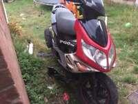Pgo 50 spares or repairs