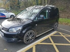 VW Caddy Black Edition NO VAT