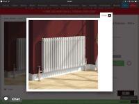 Reina Colona 2 Column White Radiators (3 various sizes) £350 ONO