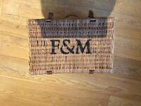 Fortnum & Mason picnic hamper
