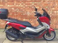 Yamaha NMAX 125cc, Excellent, only 836 miles! (65 REG)