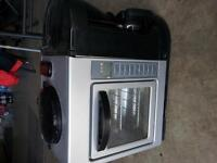 Toaster oven/coffee maker.