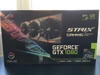 Asus ROG Strix GeForce STRIX-GTX1080-A8G-GAMING 8 GB GDDR5 Graphics Card - Black
