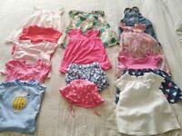 6-9 month baby girls summer bundle