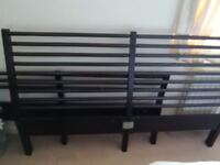 Ikea Bed King Size Frame - Good Condition - Only £40