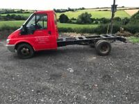 Transit chassis cab new fuel pump only 57500 miles