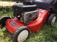 BRIGGS AND STRATTON PETROL LAWNMOWER- FREE DELIVERY