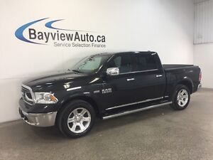 2016 Dodge RAM 1500 LTD- HEMI! RAM BOX! LEATHER! NAV! AIR RIDE!