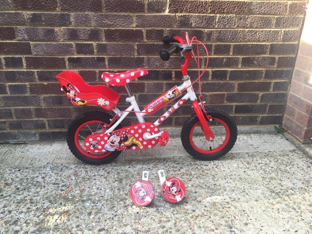 Minnie mouse 12 inch bike